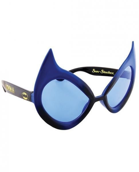 Catwoman Sunglasses Eye Glasses Mask Gag Gift Halloween DC Comics SunStaches