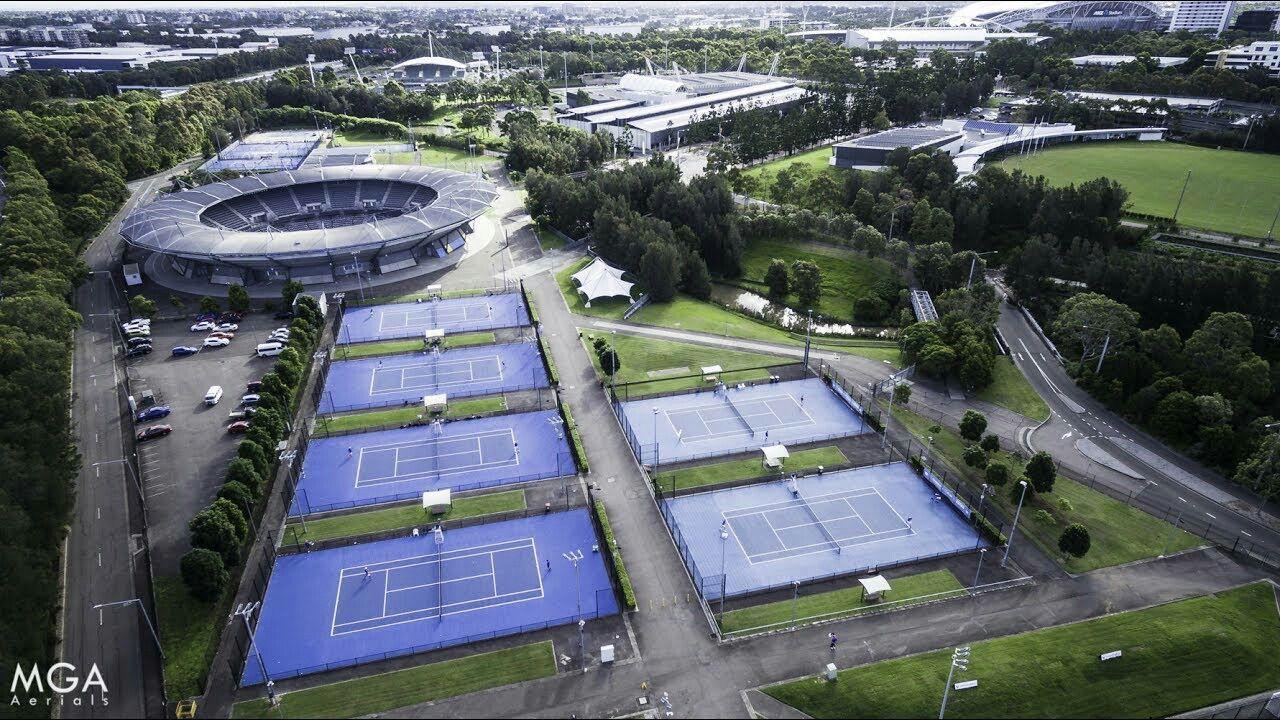 NSW Tennis Centre Tennis camp, Tennis lessons, Tennis center