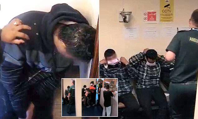 Police station lockdown in migrant disease scare #DailyMail