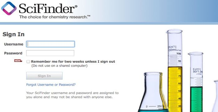 SciFinder Login