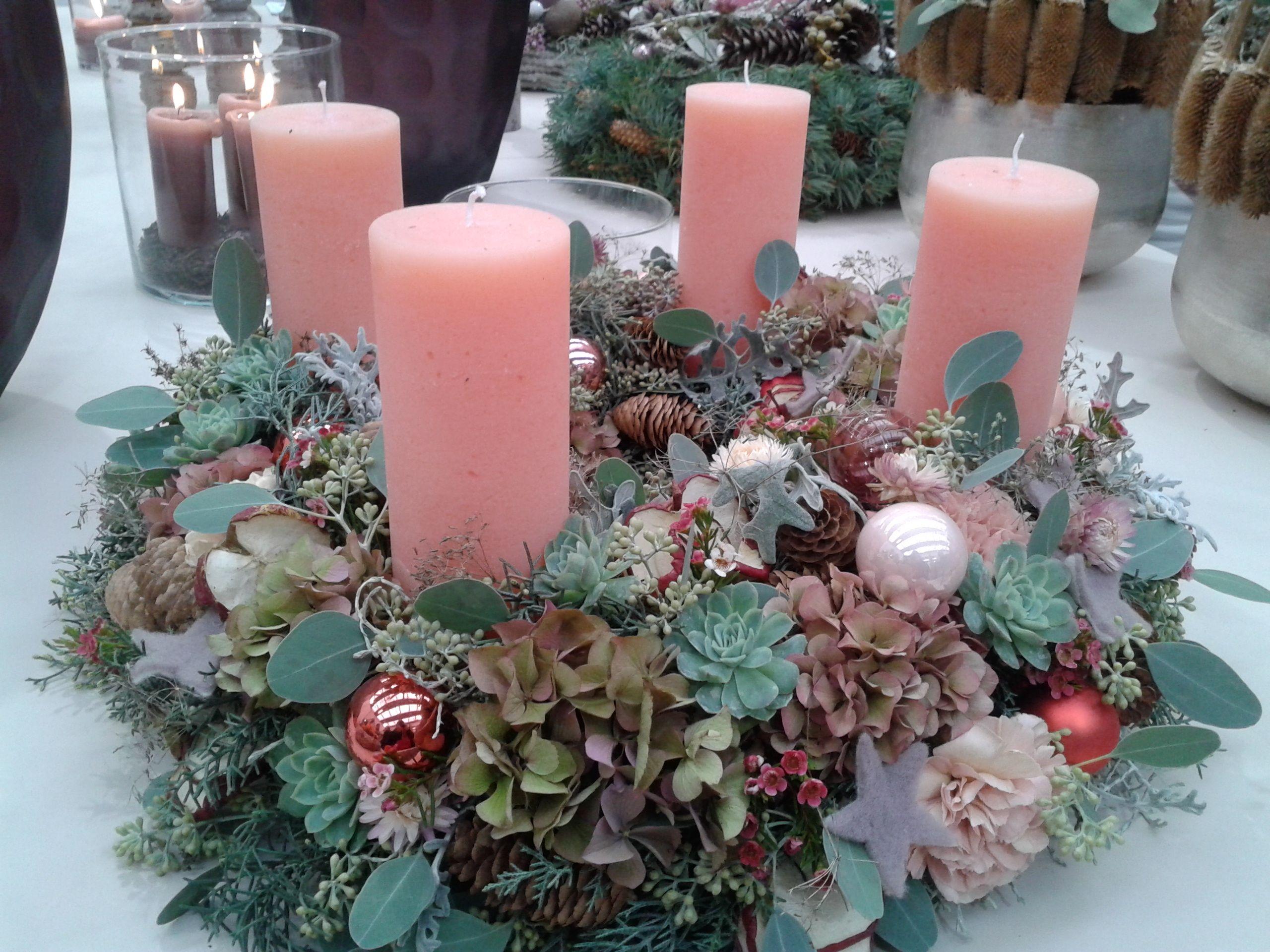Adventkranz winter christmas advent weihnachten viktorianische weihnachten a deko weihnachten - Dekorationsideen weihnachten ...