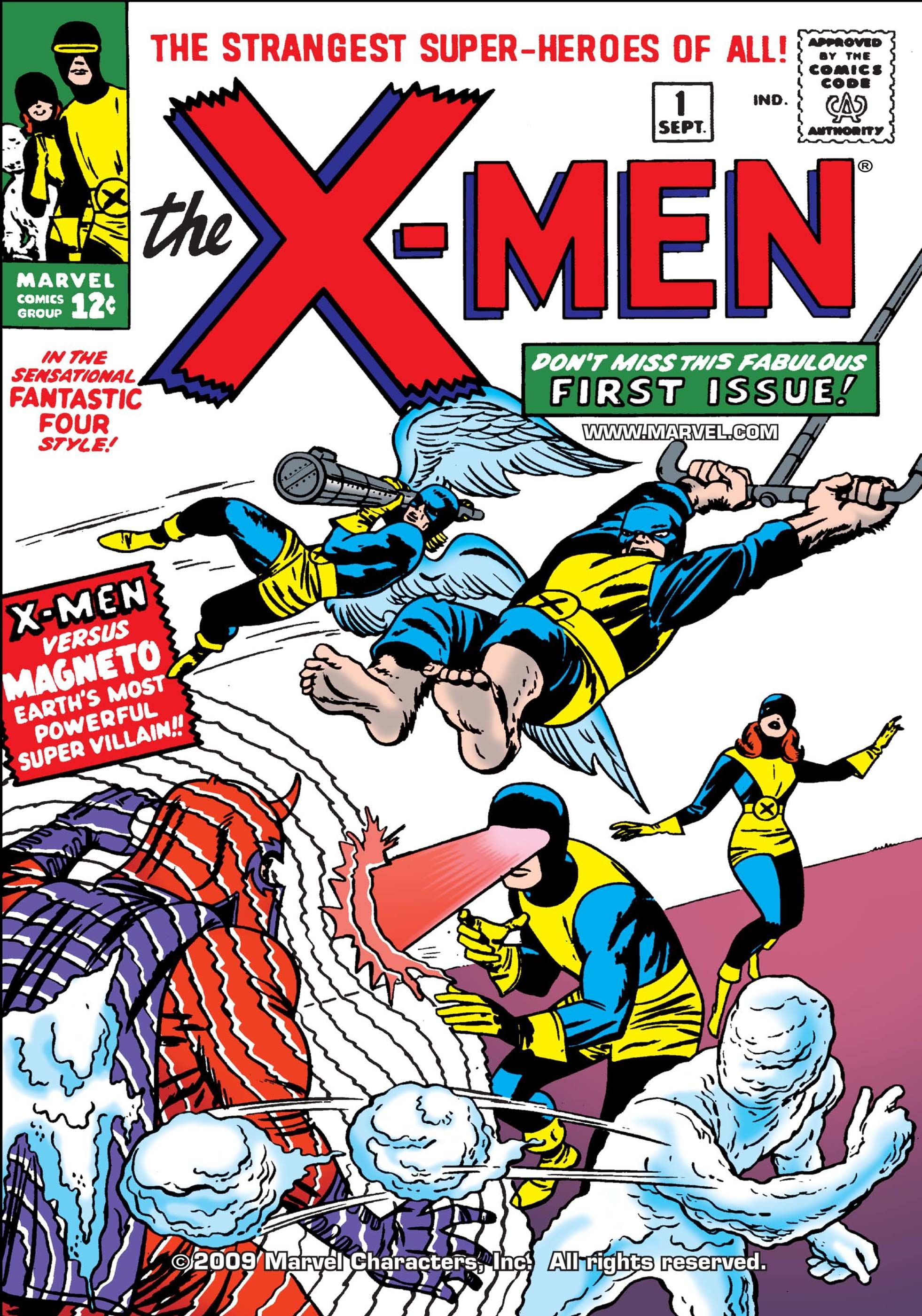 Uncanny X Men 1963 1 Marvel Comics Covers Xmen Comics Comic Book Covers