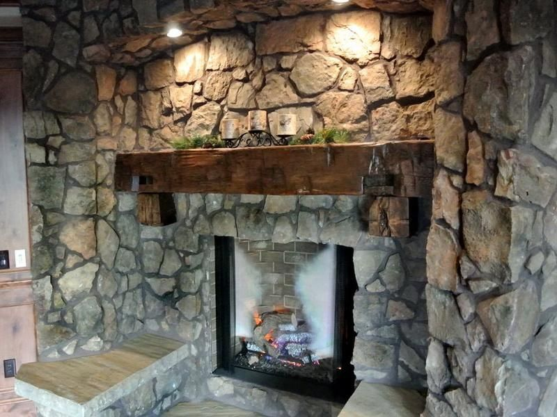 Rustic Mantel Ideas 18 Photos Of The How To Build Rustic