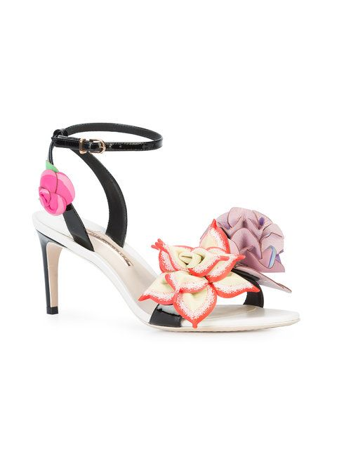Sophia Webster flower appliqué sandals clearance low cost free shipping HjuZE