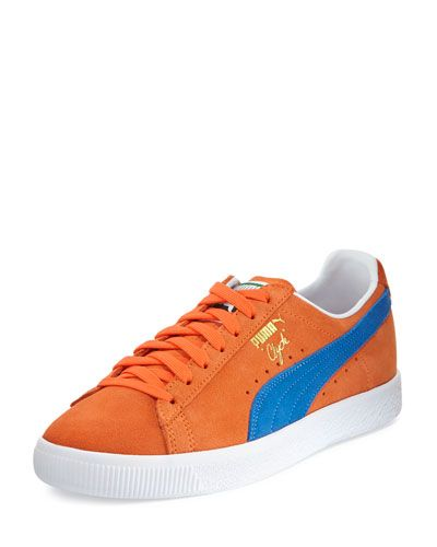 PUMA Clyde Suede Low-Top Sneaker 3a382888c35f