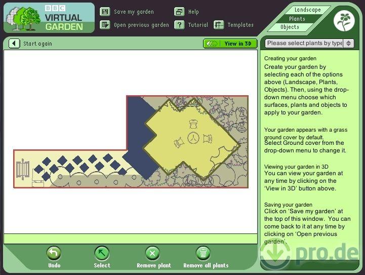 logiciel gratuit plan jardin 3d pour pc tablette et smartphone jardins patios plan jardin. Black Bedroom Furniture Sets. Home Design Ideas