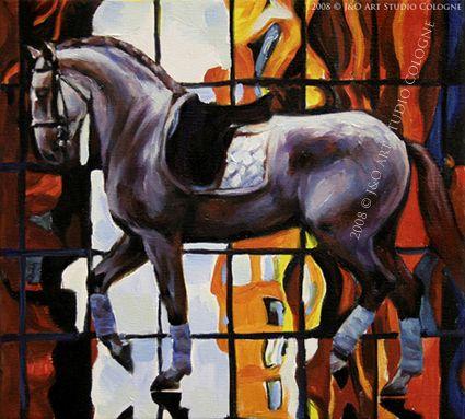 Horse art   Pferde gemalt: May 2008