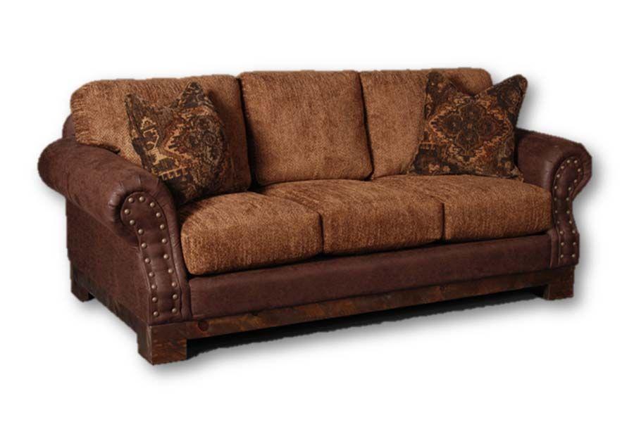 Intermountain furniture co sofa western decor decor