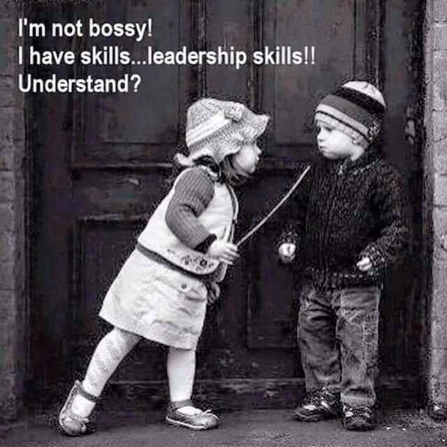 Image result for bossy girl leadership skills