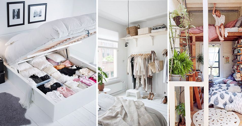 Ideeen Inrichting Kleine Slaapkamer.Slimme Tips Voor Een Kleine Slaapkamer Kleine Slaapkamer