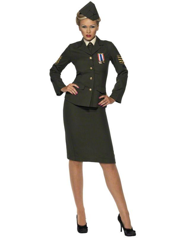 Army jacke damen kostum