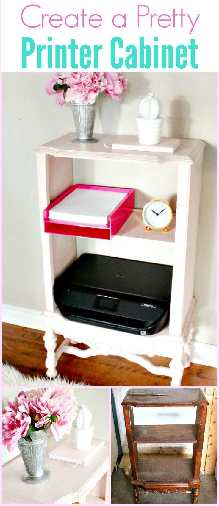 diy furniture refinishing projects. Create A Pretty Office Home With An Easy Furniture Refinishing Project Using Blush Chalk Paint. Diy Projects G