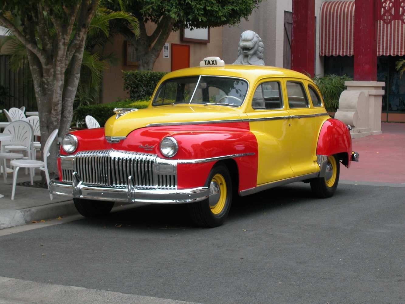 1939 Desoto Taxicab Voiture Vintage Voiture Autobus