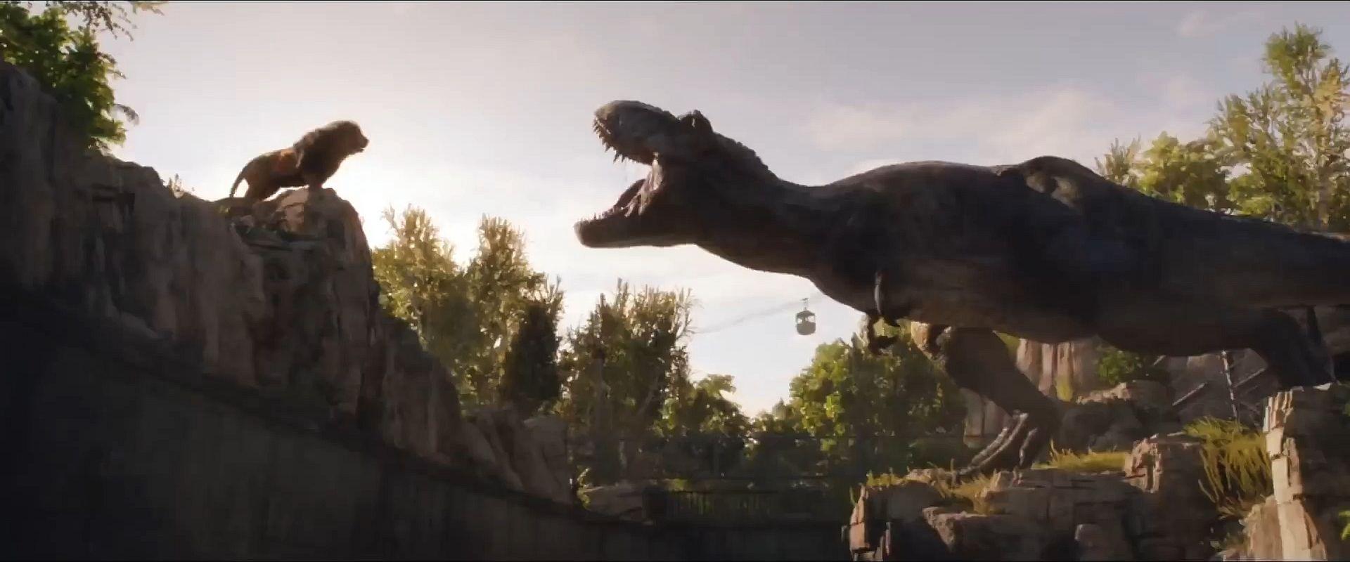 Jurassic World Fallen Kingdom-Lion Tyrannosaurus 1 by ...