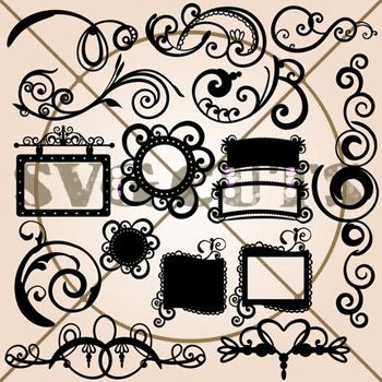 Free SVG File (Sure Cuts A Lot) 03.17.10 – Spring Flourish Square | SVGCuts.com Blog
