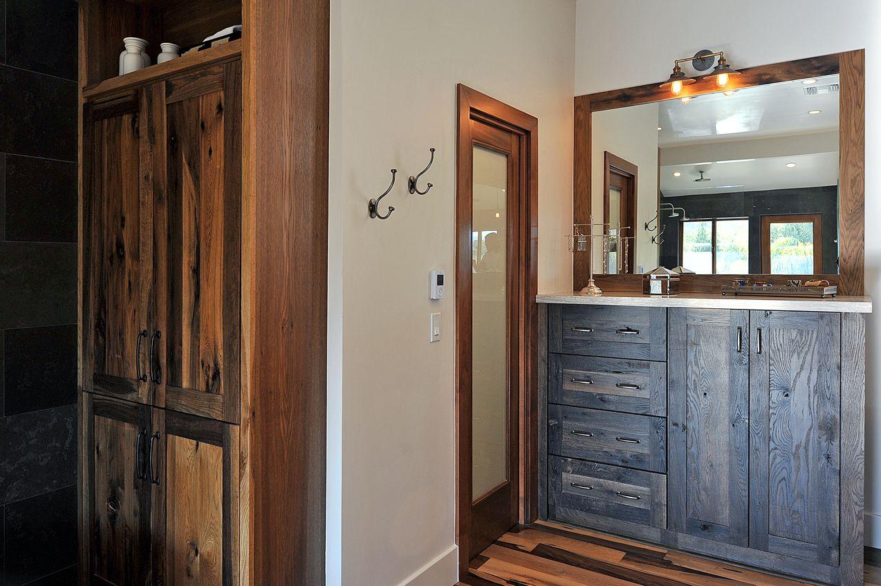 Woodland cabinetry, Restoration Hardware lighting, Emtek hardware.   By: JRP Design and Remodel