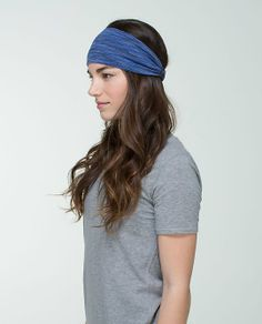 f87ef3d3097 lululemon blue we are from space headband - Google Search | My ...
