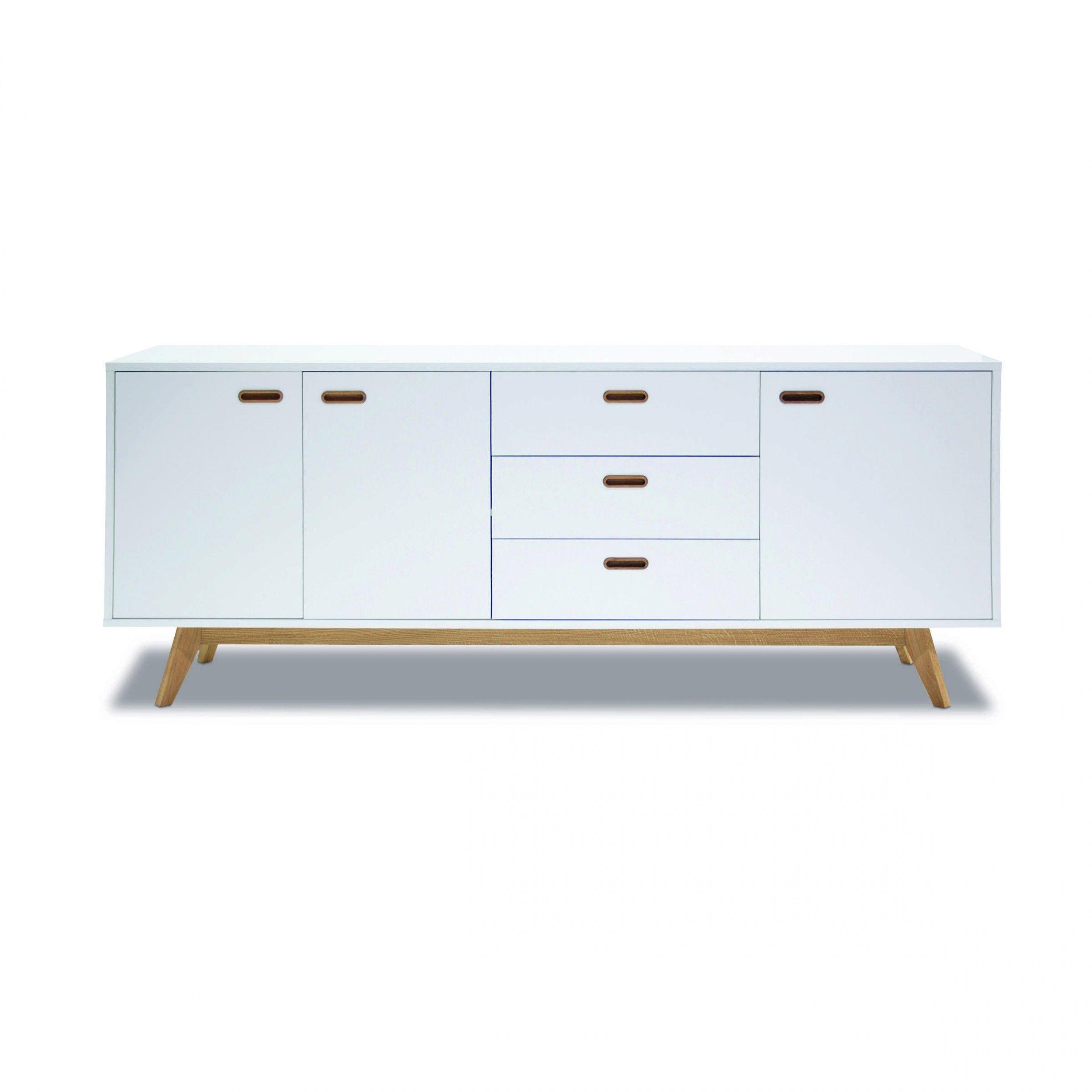 tenzo sideboard bess wei lack folie g nstig bei. Black Bedroom Furniture Sets. Home Design Ideas