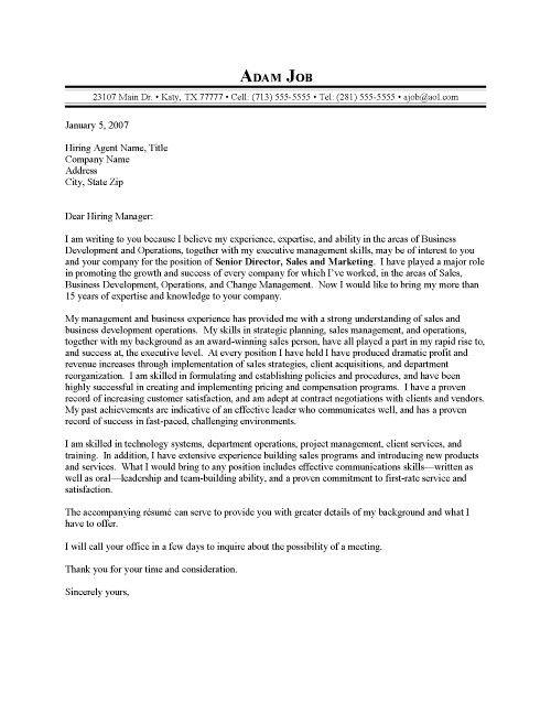 Sample Cover Letter For Sales Executive Job Executive Cover Letter Examples Resume Badak Pr Cover Letter For Resume Sample Resume Templates Cover Letter Sample