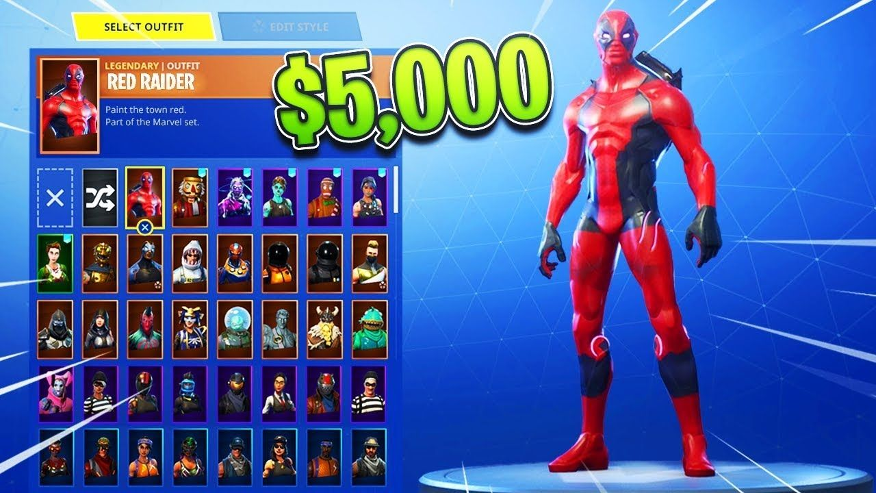 Red Jade Fortnite Skin Profile Pic My 5000 Skin Showcase In Fortnite Rare Skins Youtube Di 2020