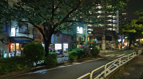 夜散歩のススメ「大井町緑道脇飲食店街」東京都品川区
