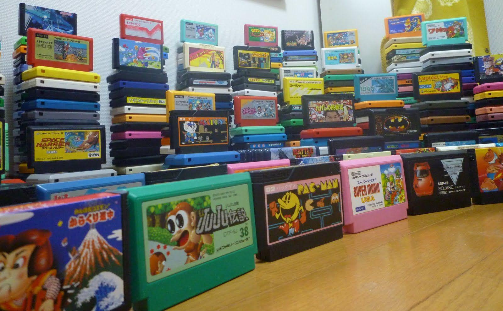 Famicom cartridges wins life