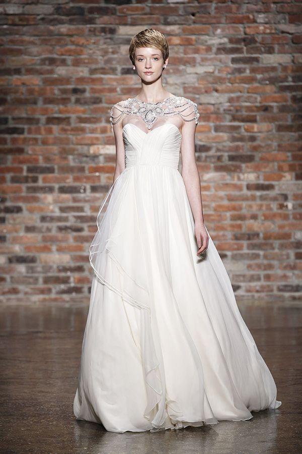 Illusion Neckline Wedding Dresses - Bridal Market | Pinterest ...