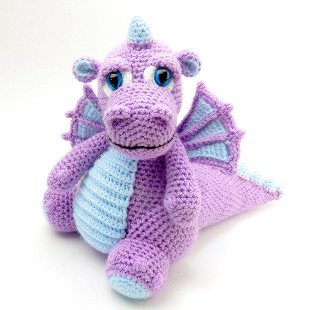 Original Amigurumi Crochet Patterns | Dinosaurios | Pinterest ...