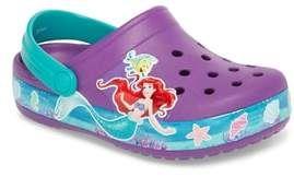 55beb676a40a47 Crocs TM) Disney(R) Princess Ariel Crocband Slip-On