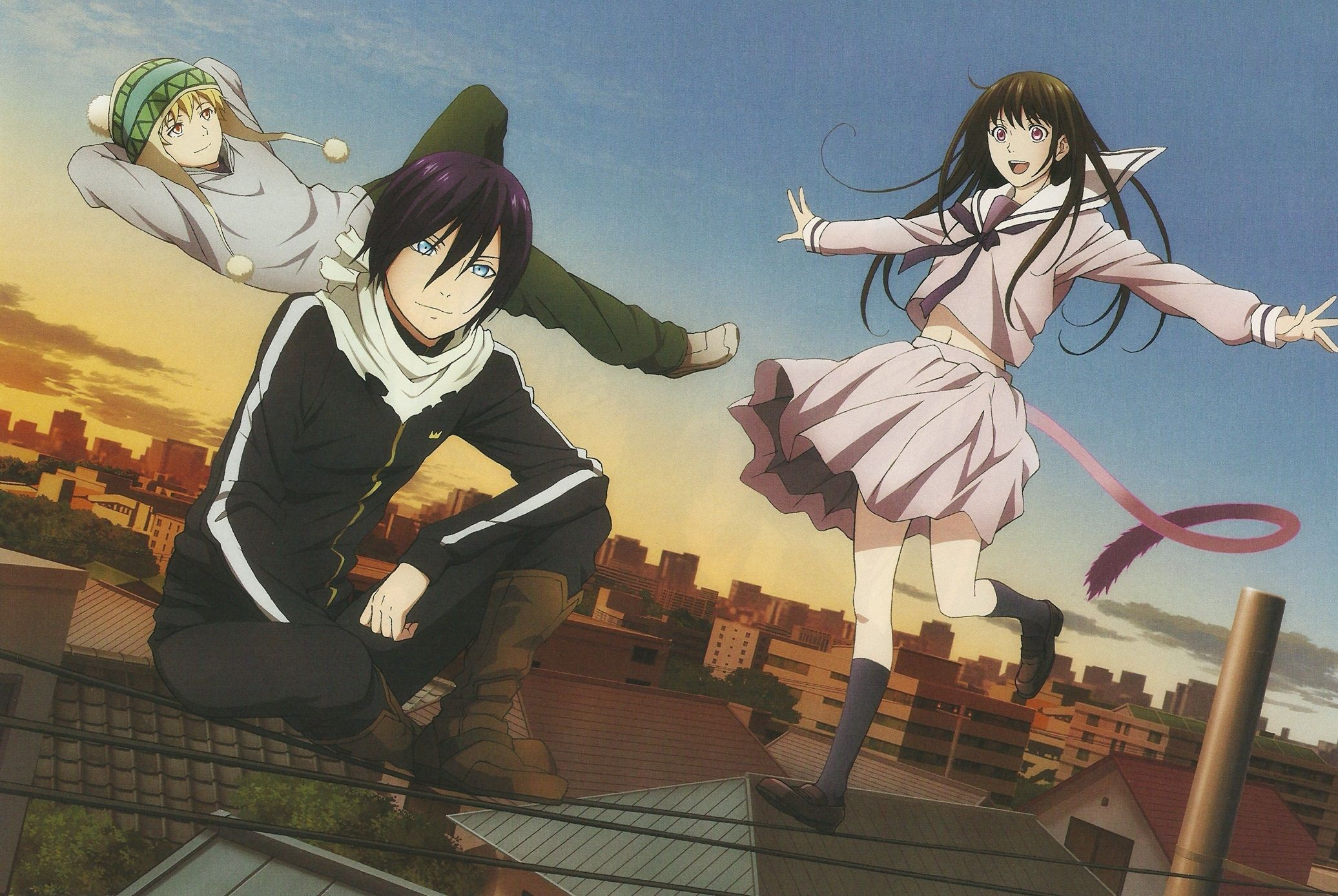 Anime Noragami Yato Yukine Hiyori Iki Wallpaper Anime