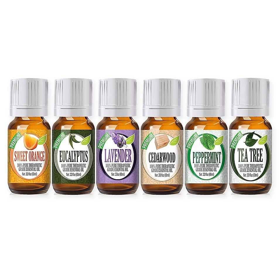 Healing solutions best 6piece essential oil gift set
