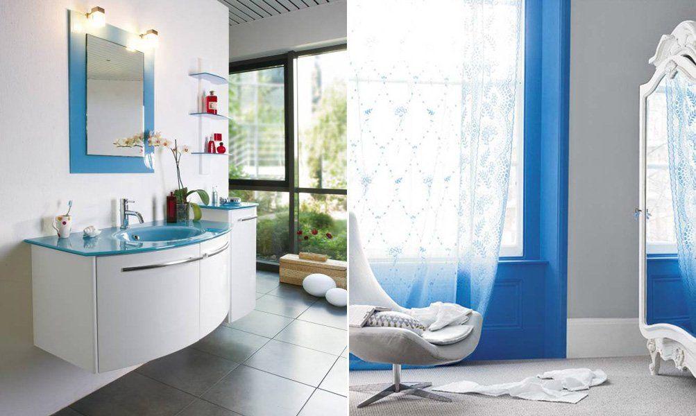 Pin de studio de color en azul pinterest como decorar - Banos turquesa y marron ...