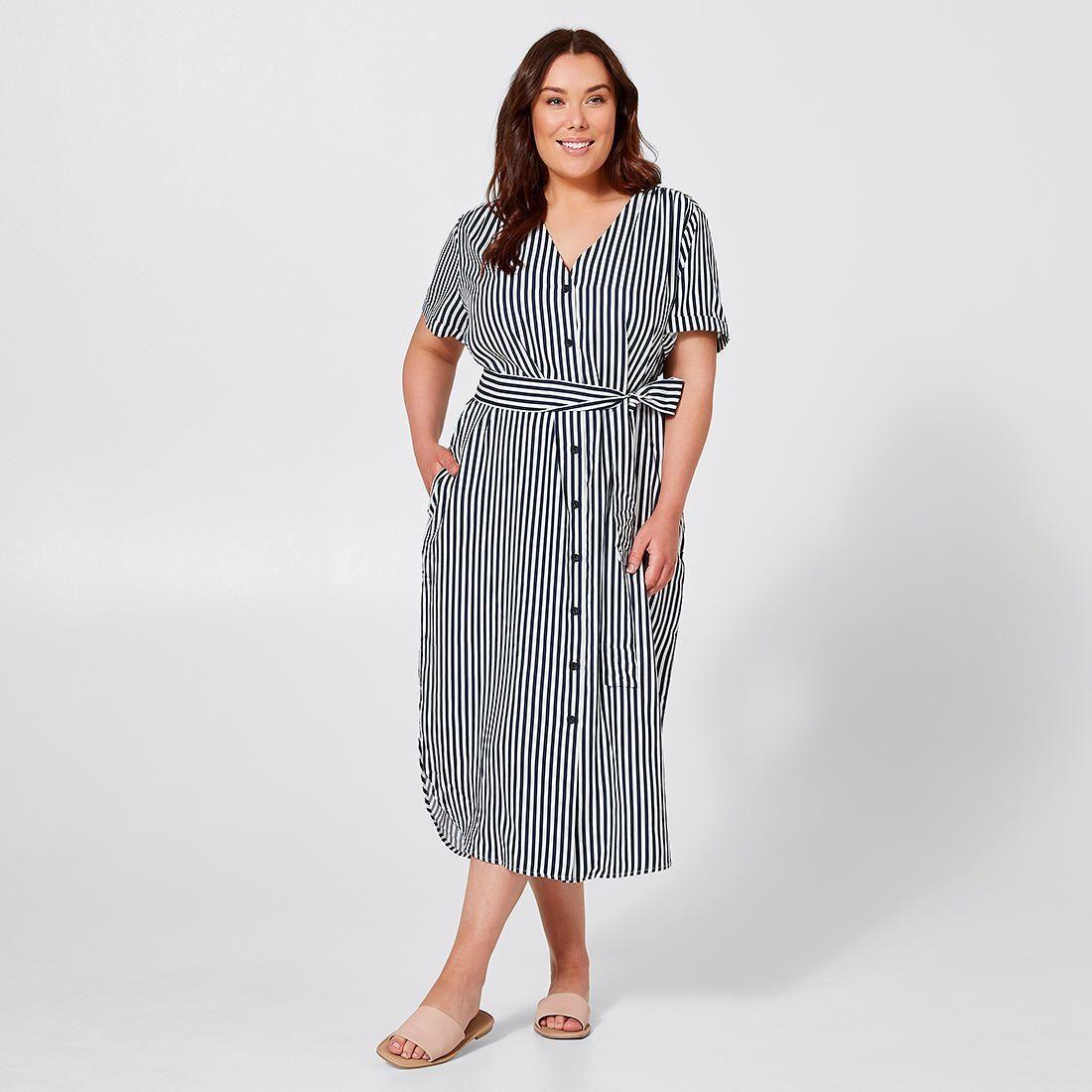 Belle Curve Striped Maxi Dress Navy White Stripe Target Australia Maxi Dress Navy Striped Maxi Dresses Striped Maxi [ 1100 x 1100 Pixel ]