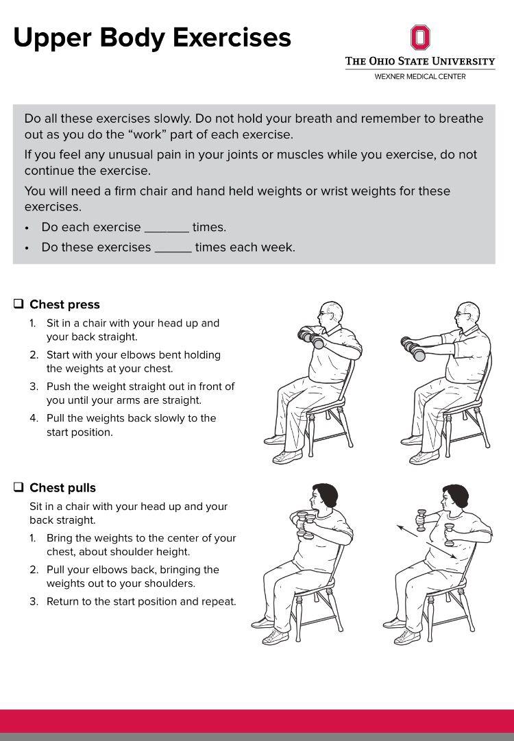 UE HEP Upper body workout, Fitness body, Body