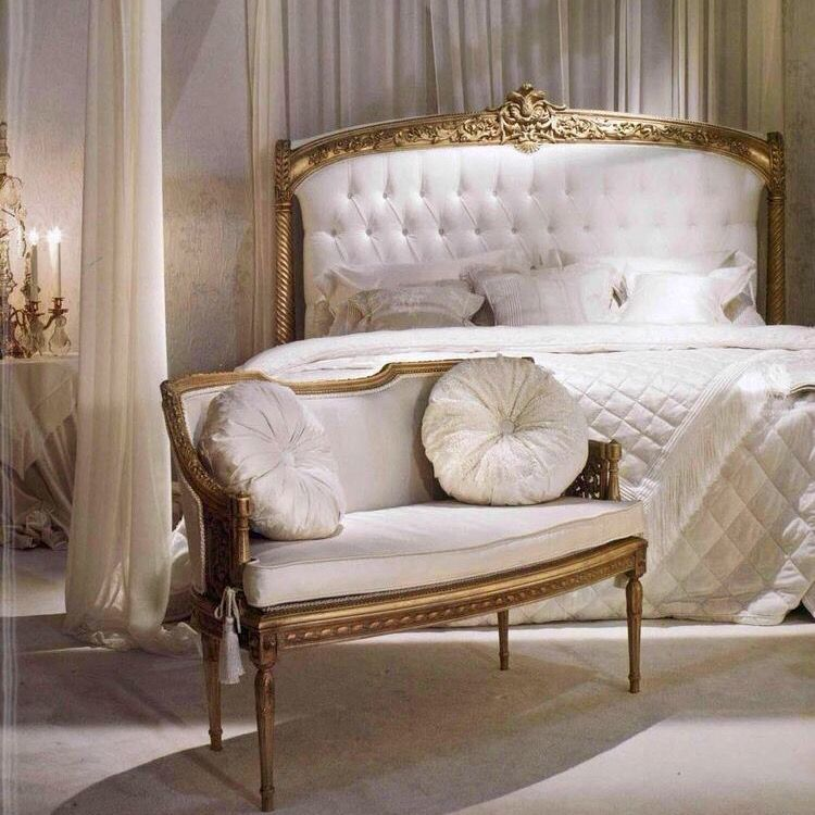 Italian Furniture Design, Antique Furniture, Furnitures, Bed Rooms, Rococo,  Master Bedrooms, 3/4 Beds, Italy, Feb 2017