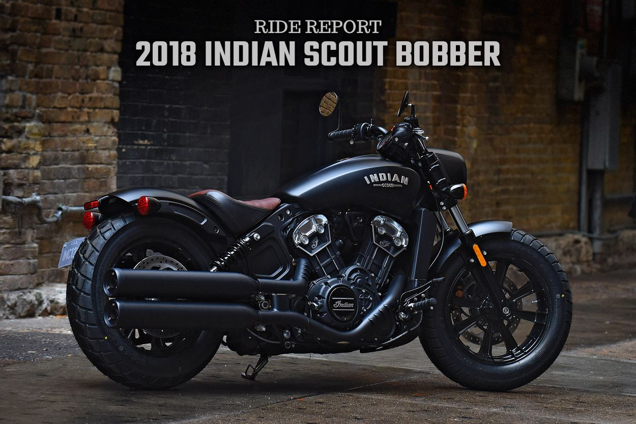 ride report the 2018 indian scout bobber indy in. Black Bedroom Furniture Sets. Home Design Ideas
