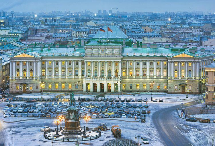 Palácio de Inverno Rússia