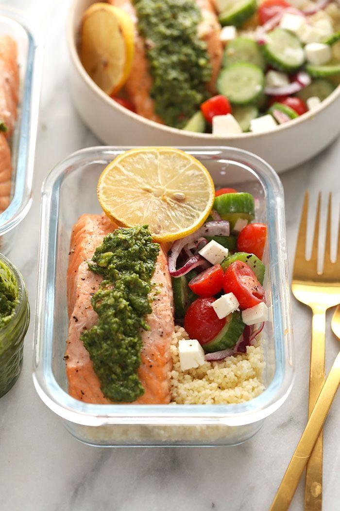 Mediterranean Salmon Meal Prep gf  keto  Fit Foodie Finds Mediterranean Salmon Meal Prep gf  keto  Fit Foodie Finds