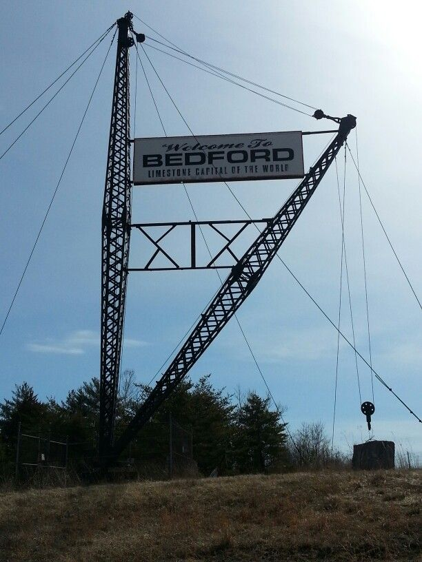 Bedford, Indiana - Welcome Sign | Indiana as I see it