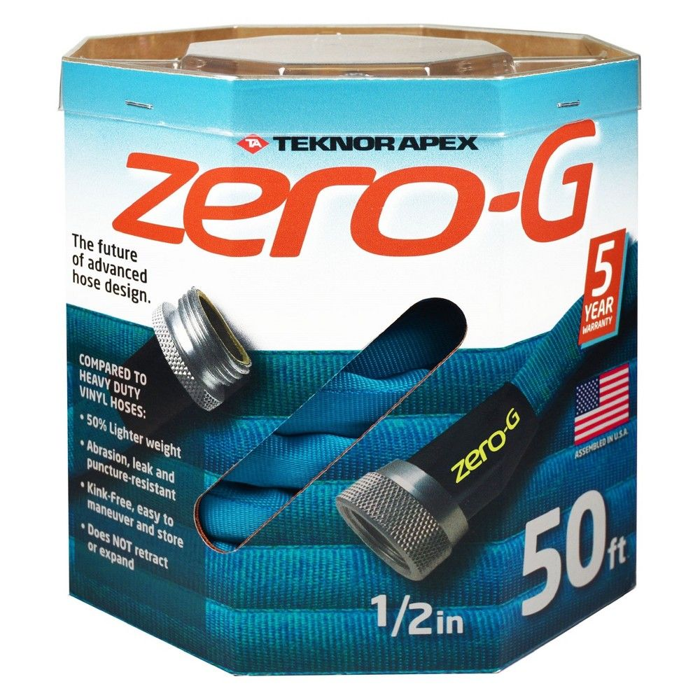 1 2 X 50 Teknor Zero G Hose Hose Garden Hose Rv Accessories