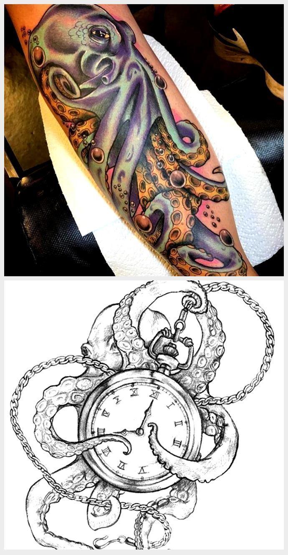 Photo of Octopus Tattoo 106 – – # –  Octopus Tattoo 106 – – #,  #Tintenfisch #Tätowi…,  #Octopus #oc…
