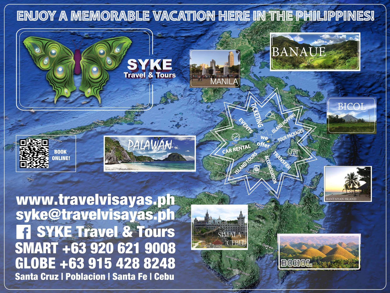 Map Philippines Travel Philippines Visayas Bantayan