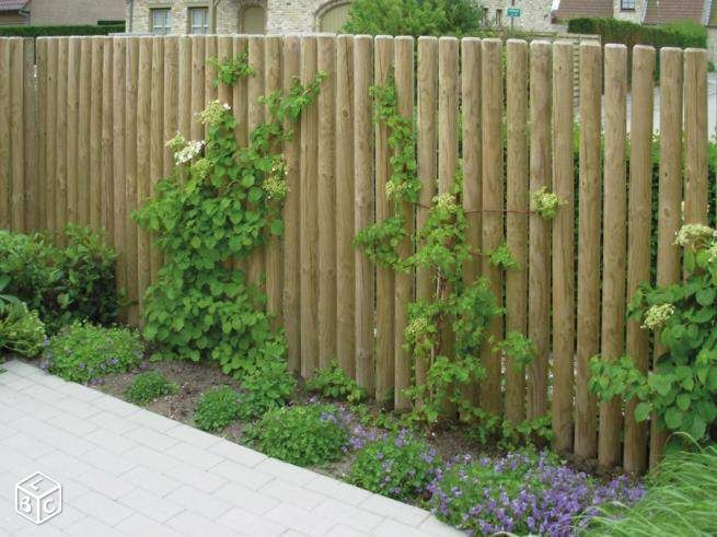 epingle sur jardin cloture barriere