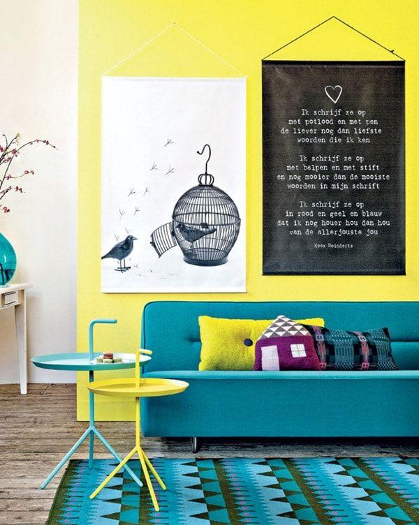 Ideas para decorar tu casa en primavera Colores vivos, La