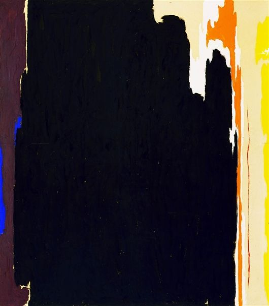 Clyfford Still Untitled 1951 T No 2 Detroit Institute Of