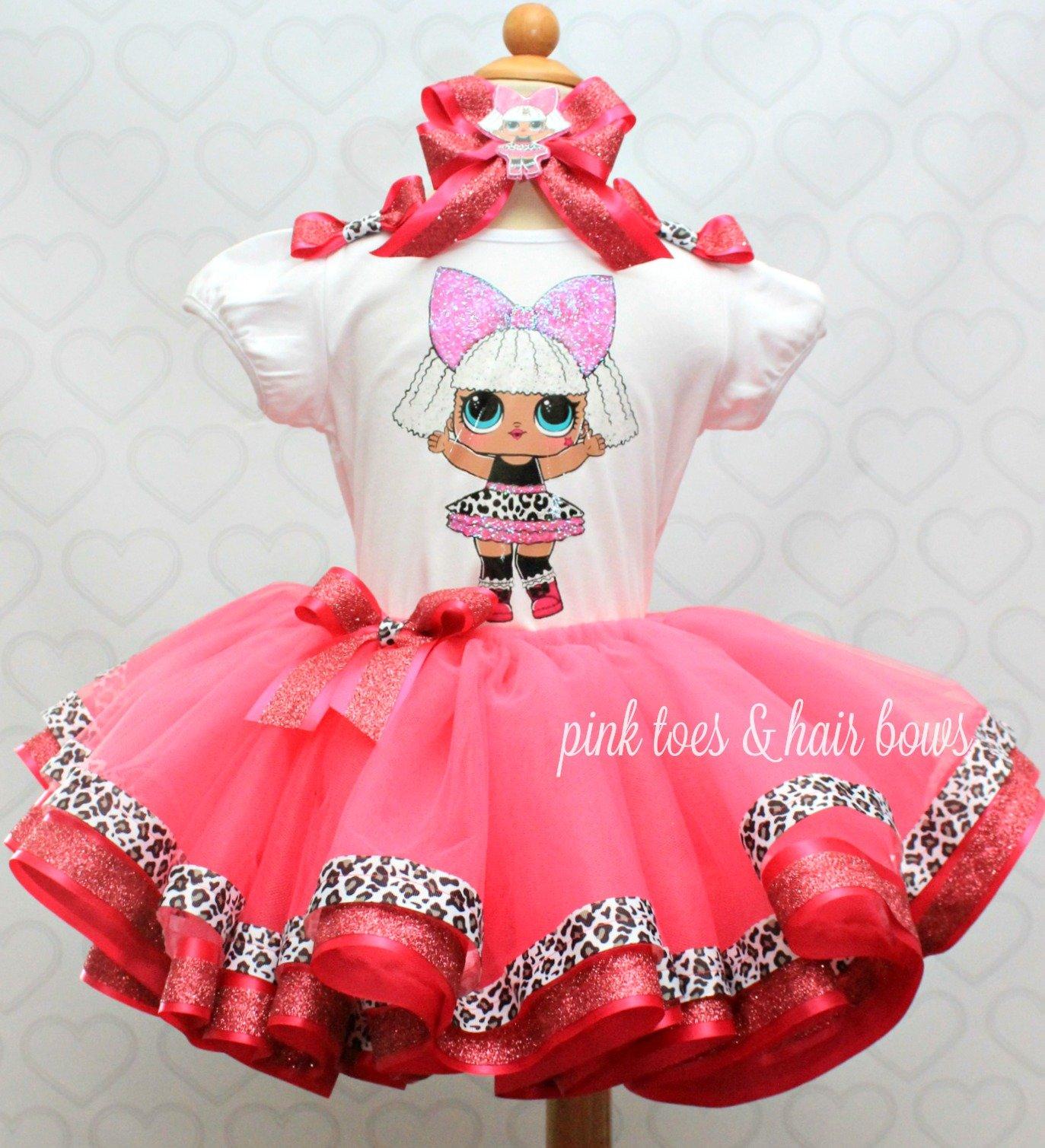 5151a9587 Diva lol surprise doll tutu set-Diva lol surprise outfit-Diva lol dress