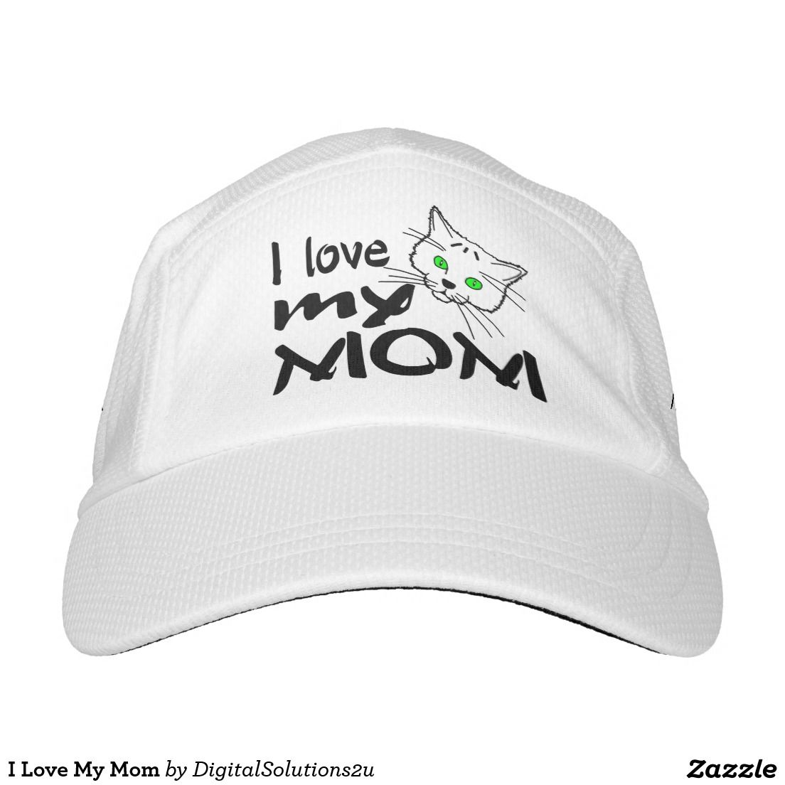 I Love My Mom Headsweats Hat