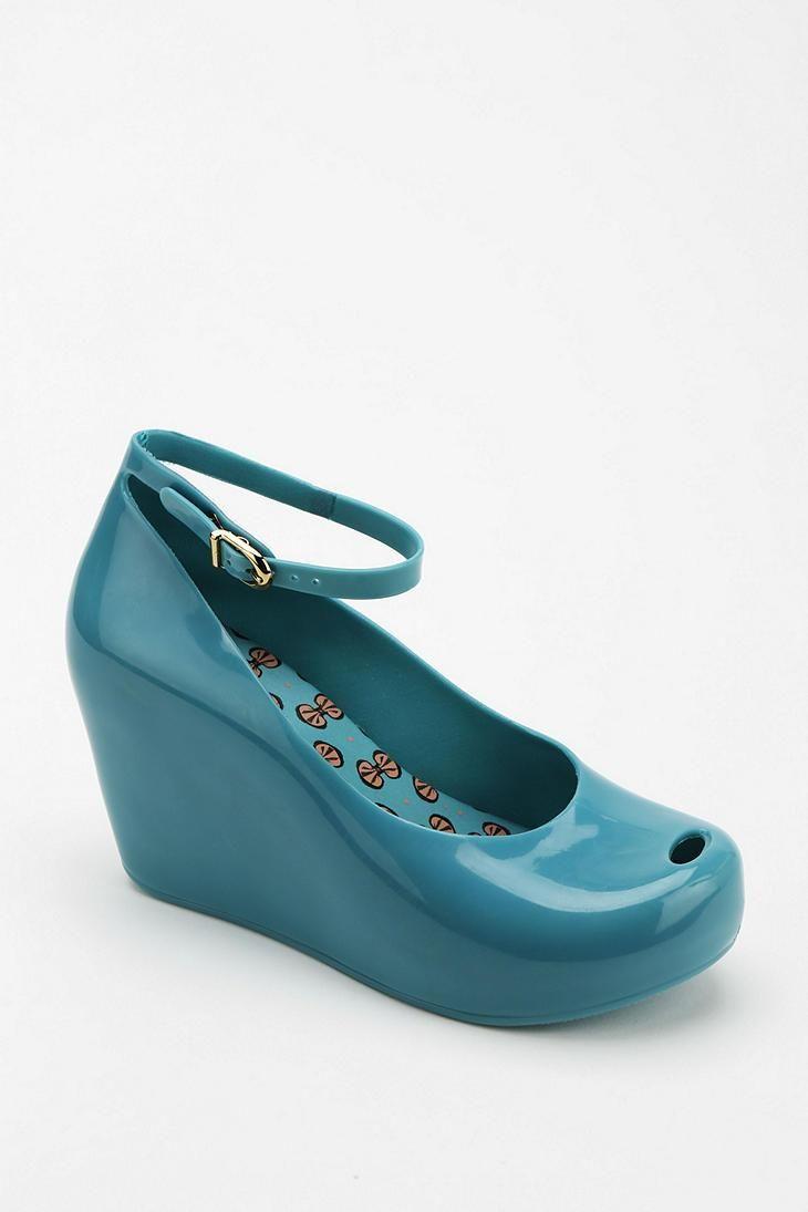 Zapatos negros Mel by Melissa para mujer legmTB