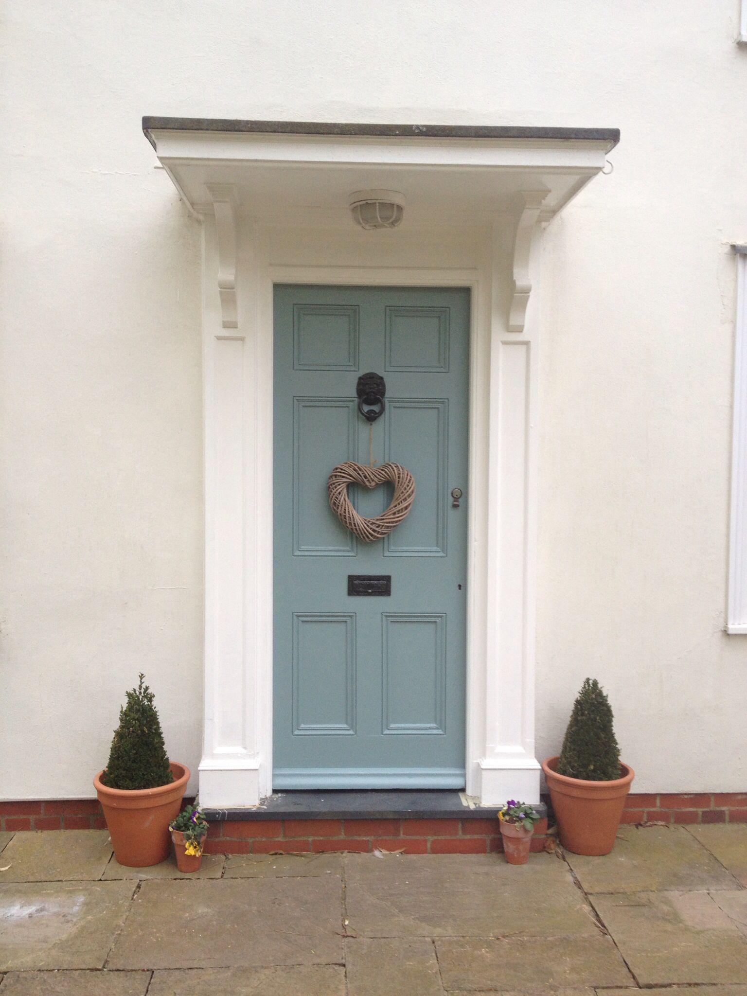Farrow and ball oval room blue my new house pinterest - Farrow and ball exterior door paint ...