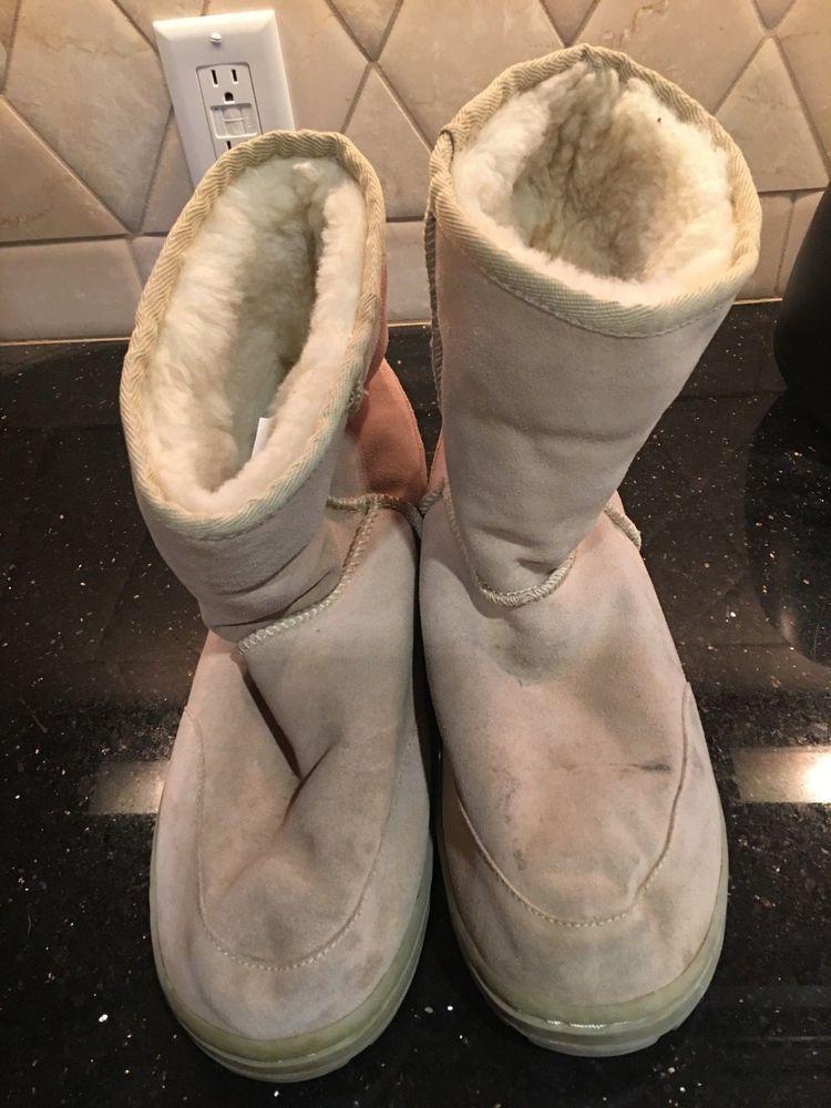 10cf173b758 EMU RIDGE Tan Winter Wool Lined Boots Men size13 #fashion #clothing ...